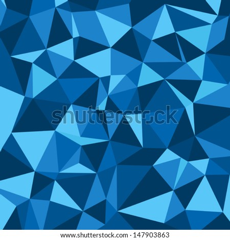 vector abstract polygonal background. Many similarities to the author's profile - stock vector