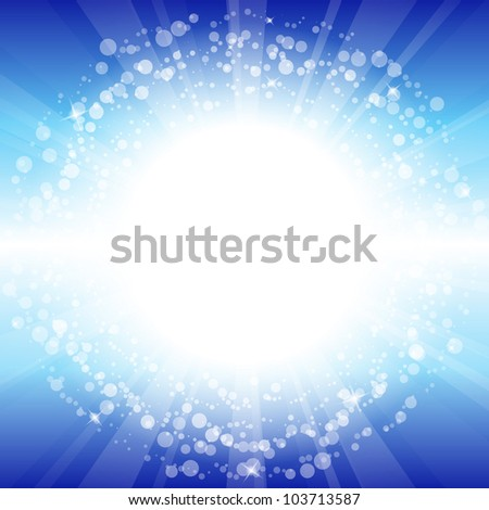 Vector abstract shiny background - stock vector