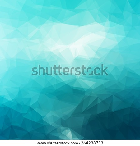 Vector Abstract Triangle Background - stock vector