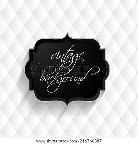 Vector abstract upholstery white background. Can be used in cover design, book design, website background, CD cover, advertising.  - stock vector