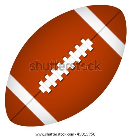 vector american football - stock vector