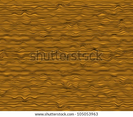 Vector art and abstract background texture as seamless wood pattern. - stock vector