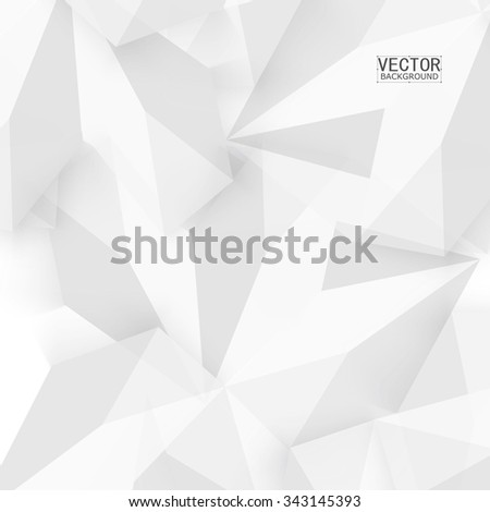 Vector background abstract polygon triangle. polygonal design geometrical - stock vector