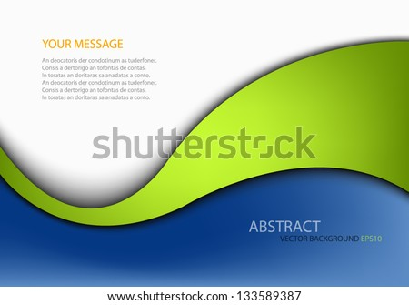 vector background dimension 3d overlap graphic message board for text and message design frame line shadow for modern web design - stock vector