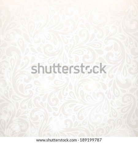 Vector Background. Floral Pattern, Wallpaper with Flowers. Vintage Background. - stock vector
