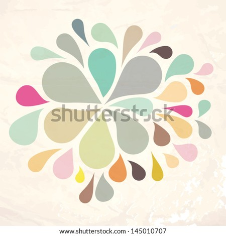 Vector background illustration. Seamless pattern can be used for wallpaper, web page background, pattern fills,surface textures... - stock vector