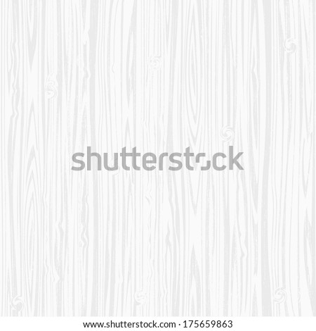 Vector background of white wooden texture - stock vector