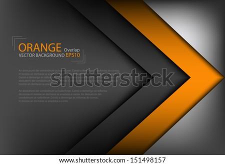 vector background overlap dimension modern line bar design for text and message website design , vector - stock vector