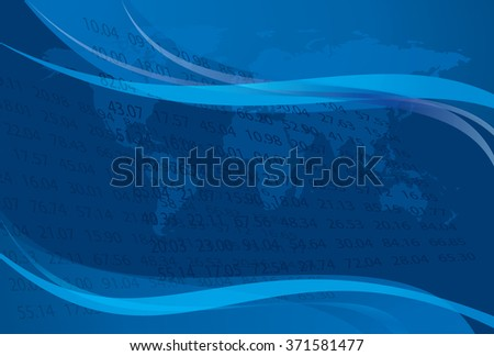 vector background with data - eps 10 - stock vector