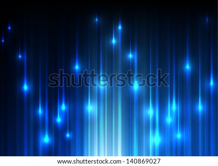 Vector background with vertical light lines. - stock vector