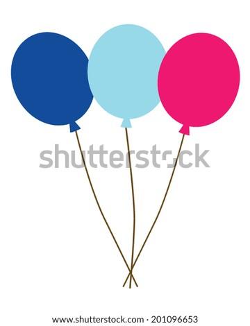 Vector Balloons  - stock vector