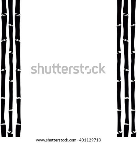 bamboo frame stock vectors amp vector clip art shutterstock
