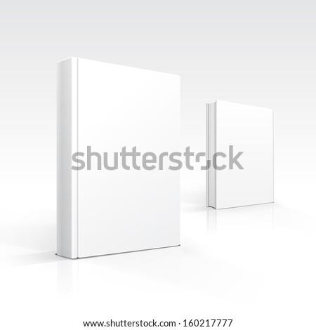 Vector Blank Books - stock vector
