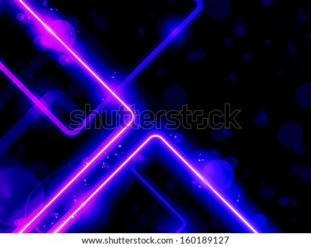 Vector - Blue Purple  Lines Background Neon Laser - stock vector
