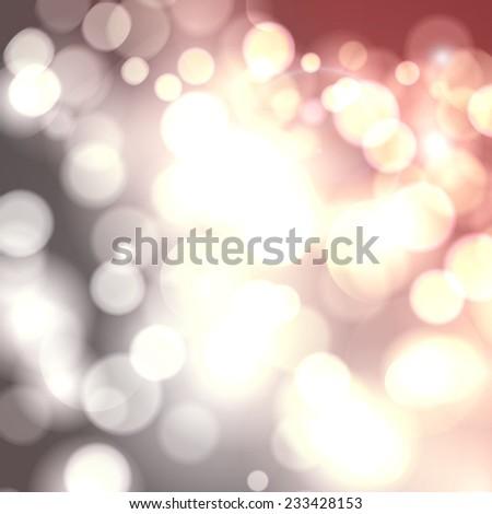 Vector bokeh light vintage background. Sparkling flow background. - stock vector