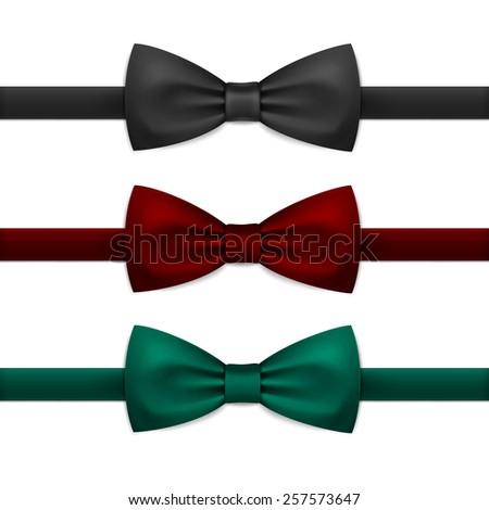 Bowtie Vector Black Bow Tie Stock Ph...
