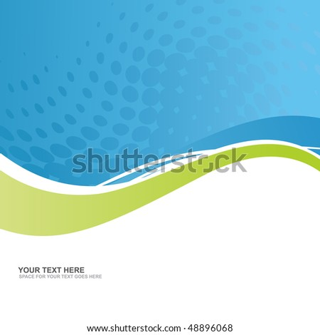 vector business background with space for text - stock vector