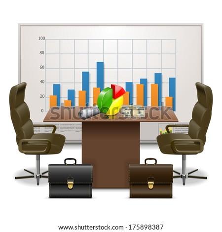 Vector Business Plan Concept - stock vector