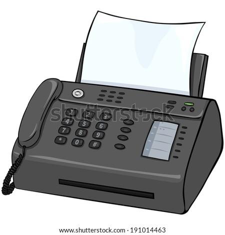 picture of fax machine