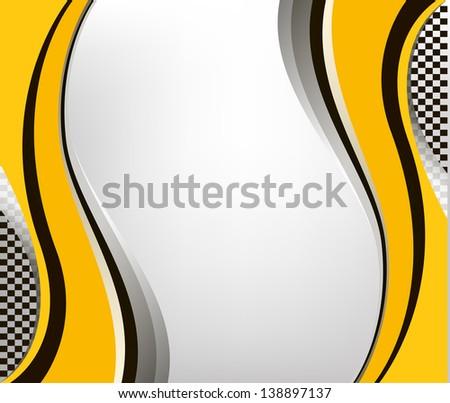 vector checkered  background. EPS10 illustration - stock vector