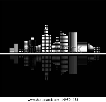 vector. city  - stock vector