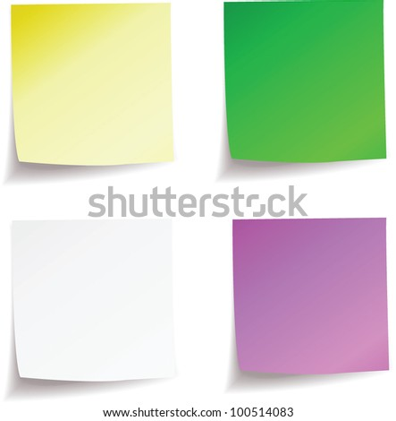 vector clear sticky. stock image for you design - stock vector