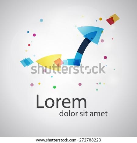 Vector clock. Business symbol concept. Social concept vector logo design template.  time company logo design. Science technology abstract icon - vector logo. Teamwork symbol. Social Network. - stock vector