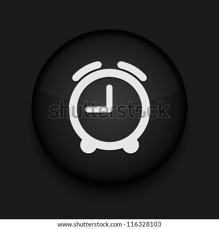 Vector clock icon. Eps10. Easy to edit - stock vector