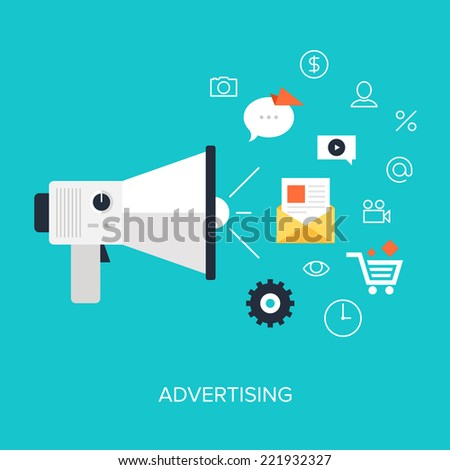 Vector collection of flat and colorful business and finance concepts. Design elements for web and mobile applications. - stock vector