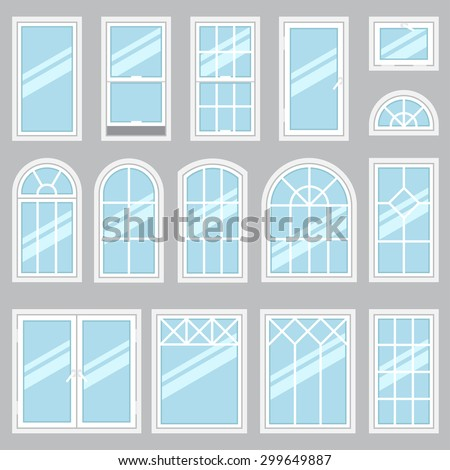 Window stock photos images pictures shutterstock for Types of modern windows