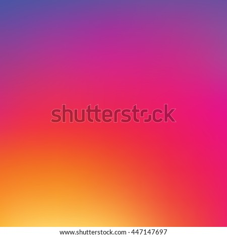 Vector colorful background in new social style, colorful background template, pattern, wallpaper, popular social network, inspired by instagram new logo - stock vector