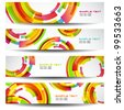 Vector colorful Banners - stock vector