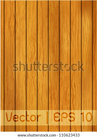 Vector column wood texture for background - stock vector