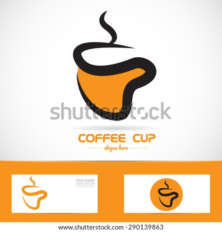 coffee cup logo template - photo #43