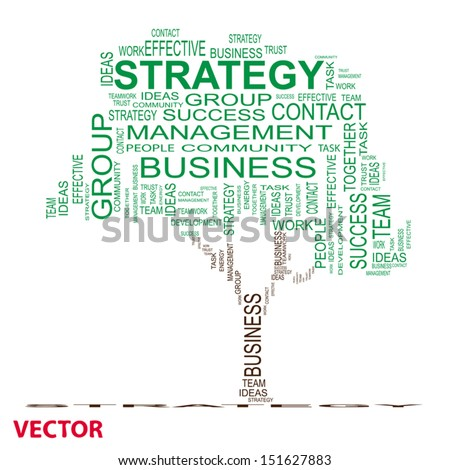 Vector conceptual green text word cloud or tagcloud isolated on white background ,metaphor for business,team,teamwork,management,effective,success,communication,company, cooperation,group or symbol - stock vector
