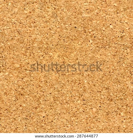 Vector cork board texture - stock vector