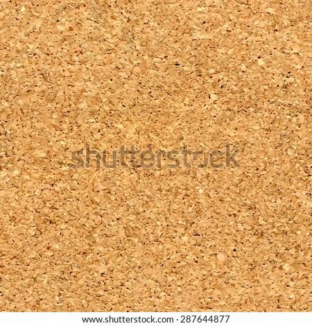 Vector cork board texture - stock vector