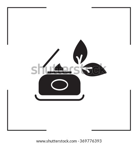 Vector cream icon - stock vector