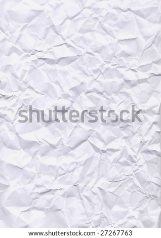 VECTOR - Crumpled paper texture - stock vector