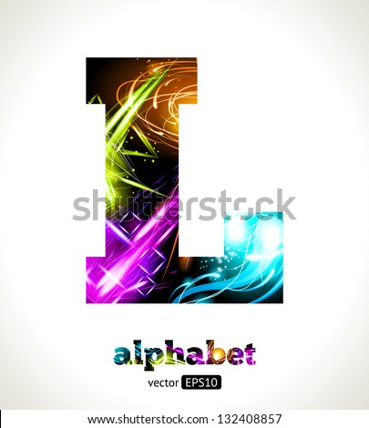 Cool Abstract Designs Design Abstract Letter l