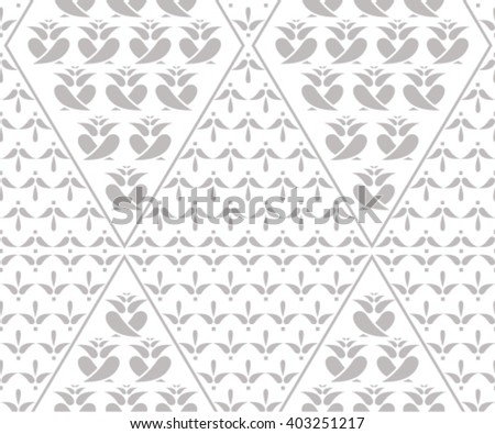 Vector damask seamless pattern background. Elegant luxury texture for wallpapers. Jpeg version also available in gallery. - stock vector