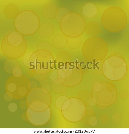 Vector Dark Yellow Grunge  Background for Your Design - stock vector