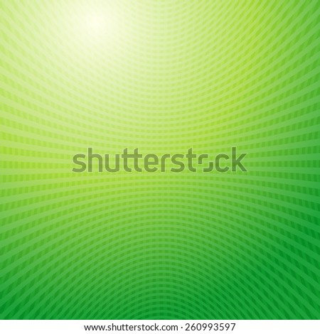 Vector design pattern. Green yellow waves Grid abstract light background - stock vector