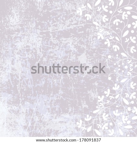 Vector designed grunge paper texture background. - stock vector