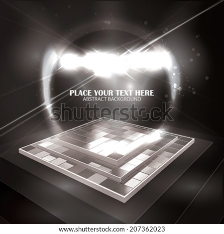 Vector Disco Background  - stock vector
