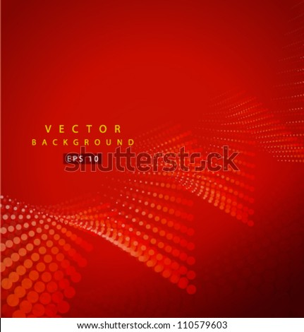 Vector economic curve - stock vector