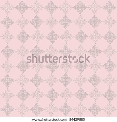 vector elegant and romantic vintage background  illustration( Invitation card) - stock vector