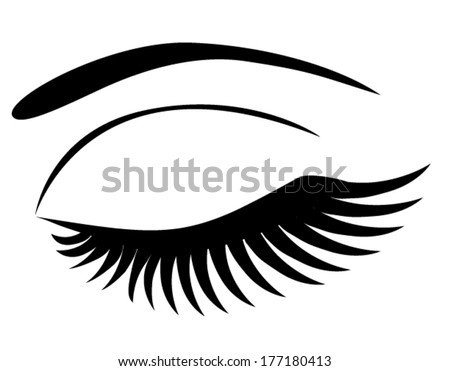 eyelashes coloring pages - photo#5
