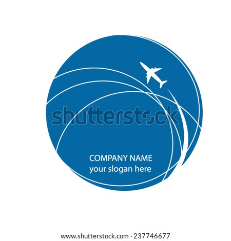 vector file of airplane design - stock vector
