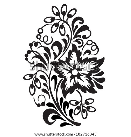 Ornamental Design Flower Ornamental Design Element